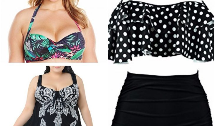 a6750354182 Plus size swimwear is what every woman lucky to be on the big side wants.  Meanwhile