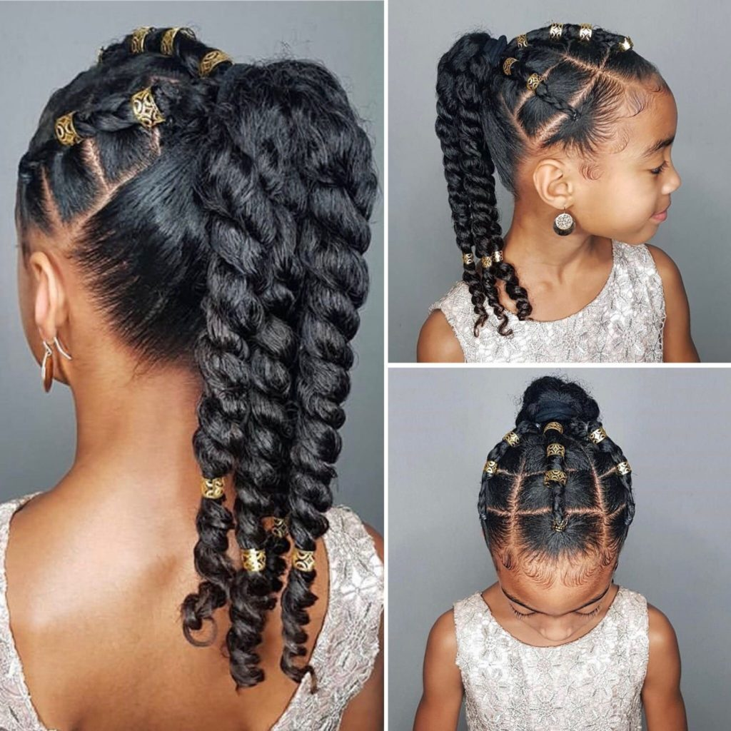 African American Little Girl Hairstyles   30 Top Trendy ...