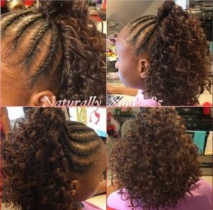 Crotchet Braids - African American Little Girl Hairstyles
