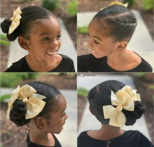 Side Bun with Bows