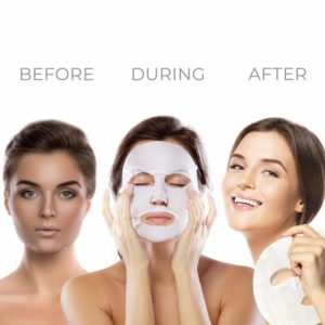 sheet mask- Ebanel Korean Collagen Facial Face Mask